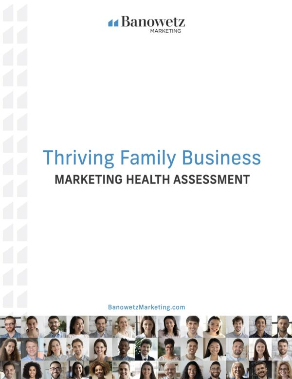 Marketing Health Assessment Packet Cover