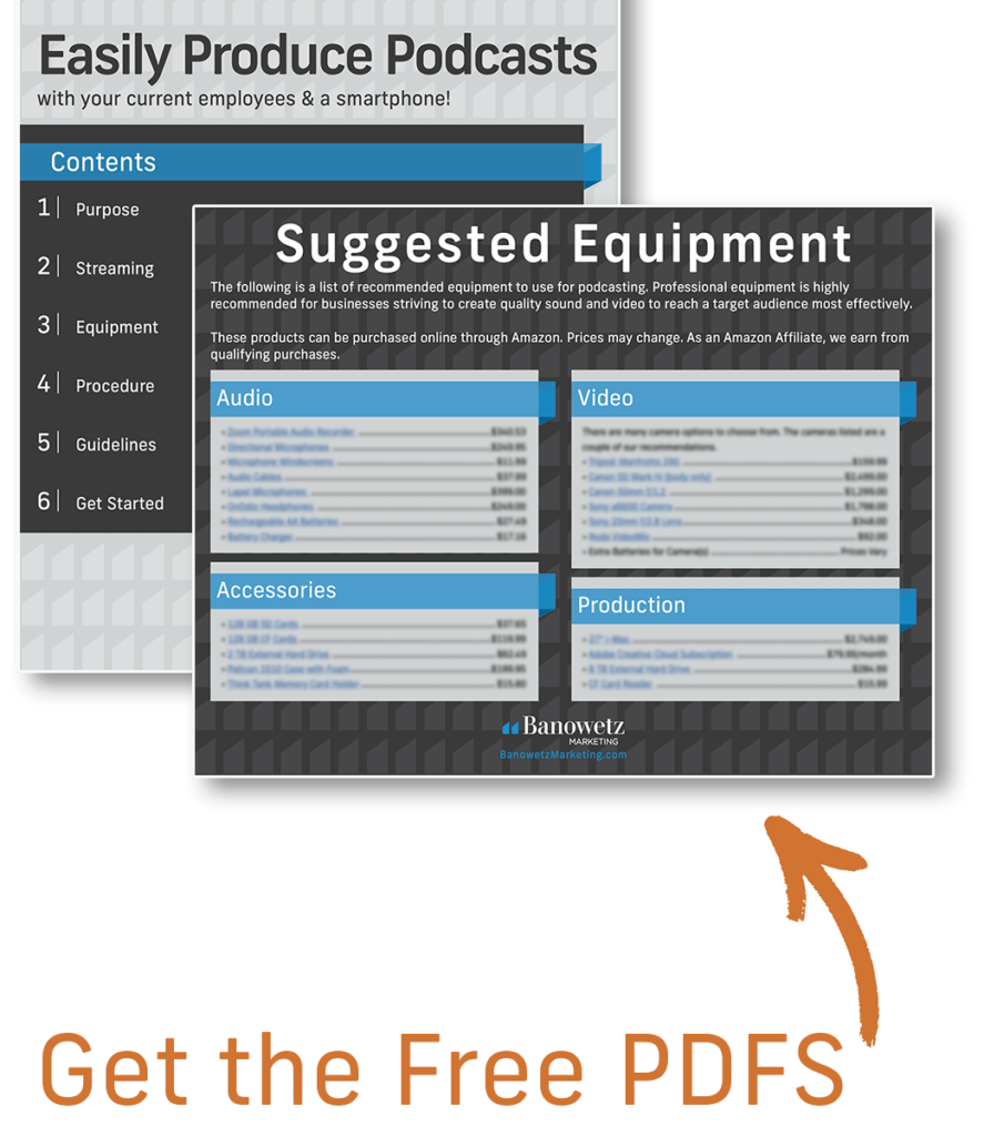 Photo of free PDF: Easily Produce Podcasts and Suggested Equipment